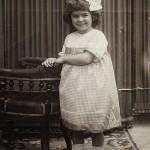 1911, con 4 años