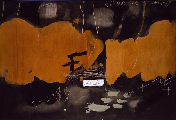 Exposición de Antoni Tàpies en Barcelona