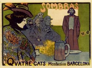 Ramon Casas 4 gats