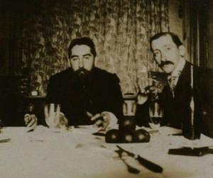 Ramon Casas y Miquel Utrillo