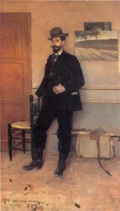 Santiago Rusiñol+Ramon Casas