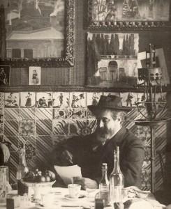 Santiago Rusiñol en els 4 Gats