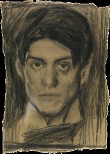 Autorretrato, 1899.