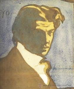 Autorretrato Picasso. 1899