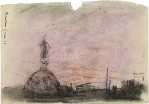 Cúpula de la iglesia de la Mercè 1897