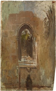Claustro catedral, 1896. Picasso