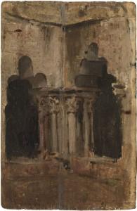 Claustro de la Catedral, 1896
