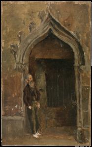Picasso, Claustro de la Catedral, 1896