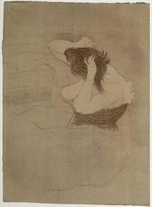Mujer peinandose, 1896. Picasso