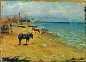 Playa de la Barceloneta, 1896