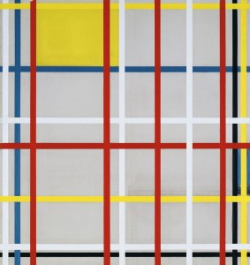 Piet Mondrian, New York City 3 (inacabado) 1941