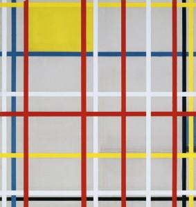 Piet Mondrian, New York City 3 (inacabado) 1941