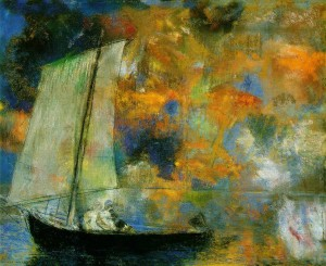 Odilon Redon, Flower clouds
