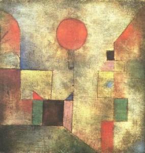 Paul Klee, Red balloon,1922 Sol.Guggenheim