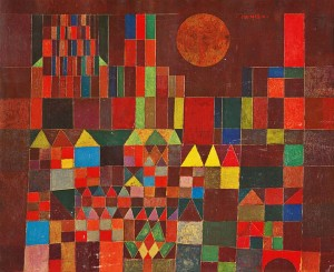 Paul Klee, Castillo y sol, 1928