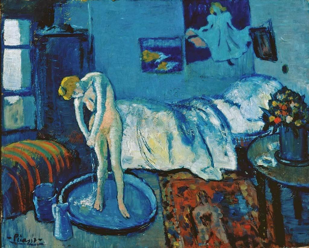 La habitacion azul, 1901