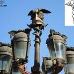 farolas plaça reial-gaudí