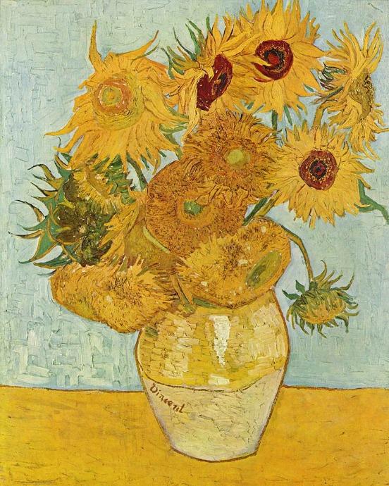 Los Girasoles De Van Gogh Como Nunca Se Los Habían Explicado