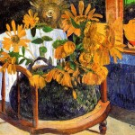 Girasoles de Gauguin