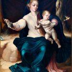 Virgen del pajarito, 1546- El divino Morales