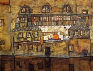 o House in a river (Old House I), 1915, Leopold