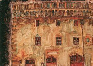Egon Schiele-Krumau Town Hall I