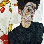 Schiele, autorretrato, 1912. Museo Leopold
