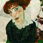 Schiele, retrato de Wally Neuzil, 1912. Museo Leopold