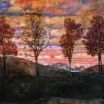 four-trees-1917
