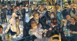 Renoir-Baile en el Moulin de la Galette 1876