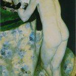 Renoir-Chico con gato 1869