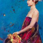 Lita Cabellut-Fairy Flower