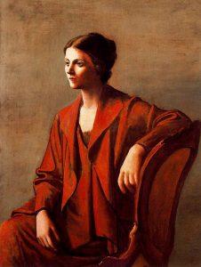 picasso-Olga Khokhlova, 1923