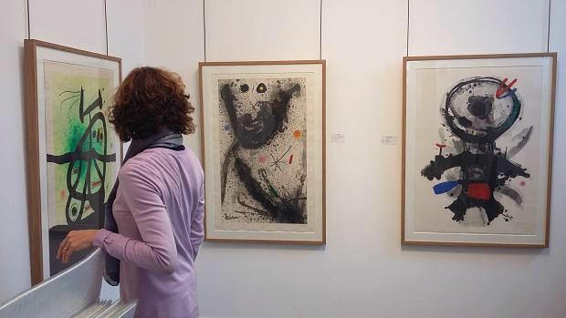 Miró en Dolors Junyent