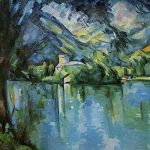 Cézanne Lago de Annecy, 1896. Courtauld Gallery Londres