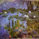 Monet: Water Lilies, 1915, Portland Art Museum, Oregon