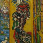 "Van Gogh ""La Cortesana (after Eisen)"" 1887, Van Gogh Museum, Amsterdam"
