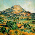 Cézanne: Monte Sainte-Victoire desde Bellevue, Barnes Foundation, Pennsylvania