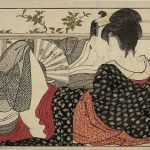 Utamaro, 1788, Estampa Shunga, British Museum