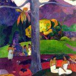 Gauguin, Mata Mua (Erase una vez), 1892, Thyssen, Madrid.