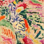 Matisse, La japonesa -al borde del agua-, pintado en Colliure, 1905, MoMA, NY.