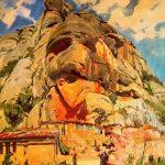 Joaquim_Mir_Els sants obradors, Montserrat 1931