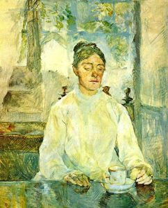 Lautrec: The artist's mother, the Countess Adele de Toulouse-Lautrec at Breakfast, 1883