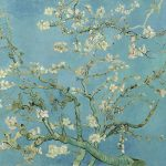 Van Gogh, Almendro en flor, febrero de 1890 en Saint-Rémy-de-Provence