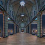 Rijksmuseum, al fondo La Ronda de noche de Rembrandt