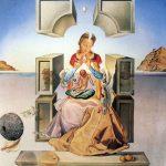 Dalí, La Madona de Portlligat, (1ª versión) 1949.