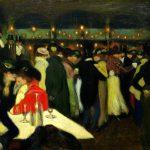 Picasso. Le Moulin de la Galette, 1900, Solomon Guggenheim Museum, New York.
