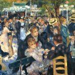 Renoir, Baile en el Moulin de la Galette, 1876, Orsay, París.