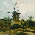 Van Gogh, Le Moulin de la Galette, 1886 Bridgestone Museum of Art, Tokyo.