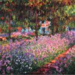 Monet, Lirios en el jardín,1900. Museo d'Orsay, París.2